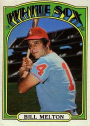 1972 Topps Baseball Cards      183     Bill Melton